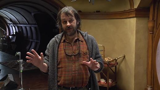 Peter Jackson oprowadza po planie filmowego Hobbita